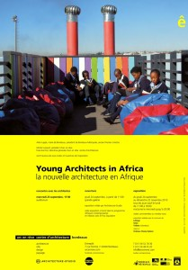 Young architect in Africa