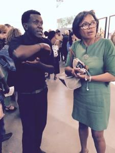 Kiripi Katembo et Patricia Mowbray