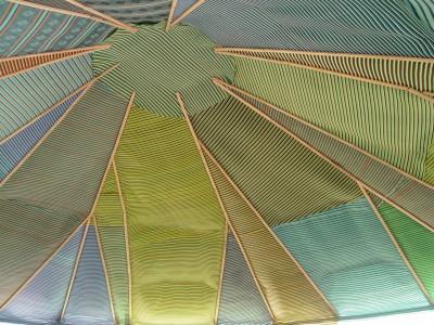 Intérieur d'un toit