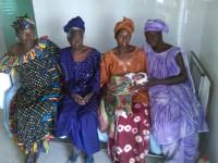 Des femmes à la maternité de Ndoss