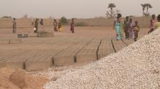 Début du chantier Keur Assan Ndiaye