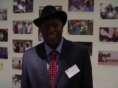 Les 10 ans de Racines d'Enfance au Grand Palais - Ibrahima Khouma