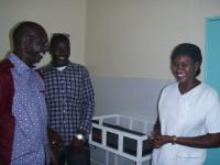 Assan Faye, l'infirmière Aïcha et le député Cheikh Diop Dionne.