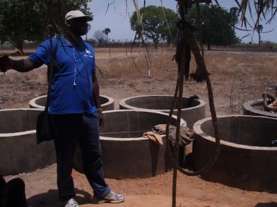 Construction du puits Wassadou