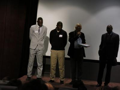 Les 10 ans de Racines d'Enfance au Grand Palais - Lassana Keita, Assan Faye, Marc Perpitch et Ibrahima Khouma