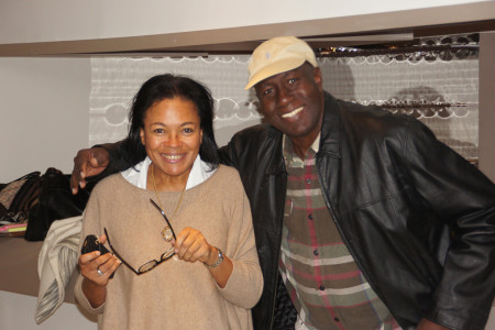 Les 10 ans de Racines d'Enfance au Grand Palais - Patricia Mowbray et Ibrahima Khouma