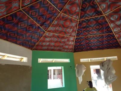 Vue peinture intérieure case.....
